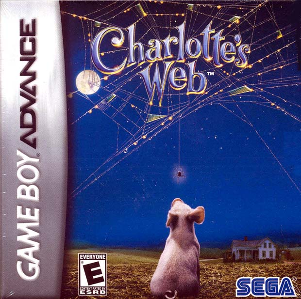 Charlottes Web for Game Boy Advance (GBA)