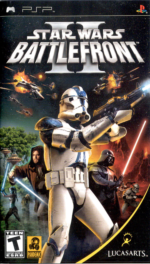 Star Wars Battlefront II for PSP is alike to its lately broadcast console