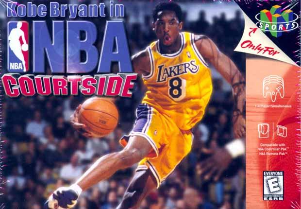 Kobe Bryant's NBA Courtside/N64 for Nintendo64 (N64)