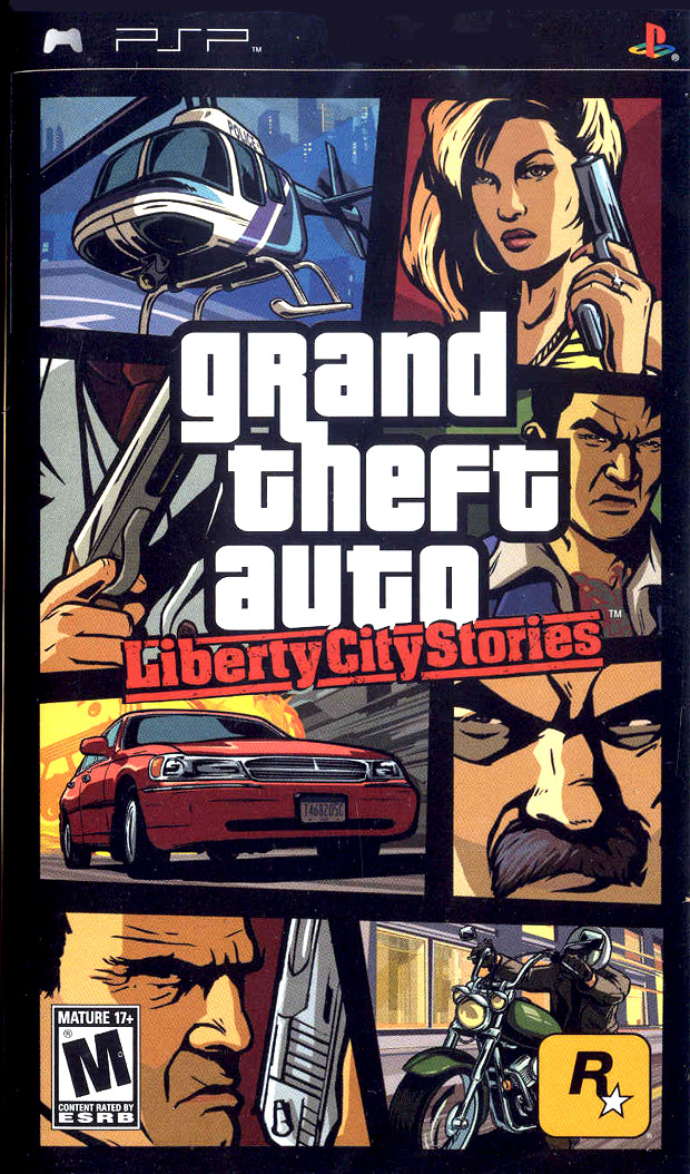 GTA: Liberty City Stories for Sony PSP (PSP)