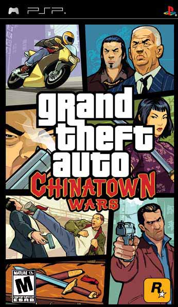 GTA: China Town Wars for Sony PSP (PSP)