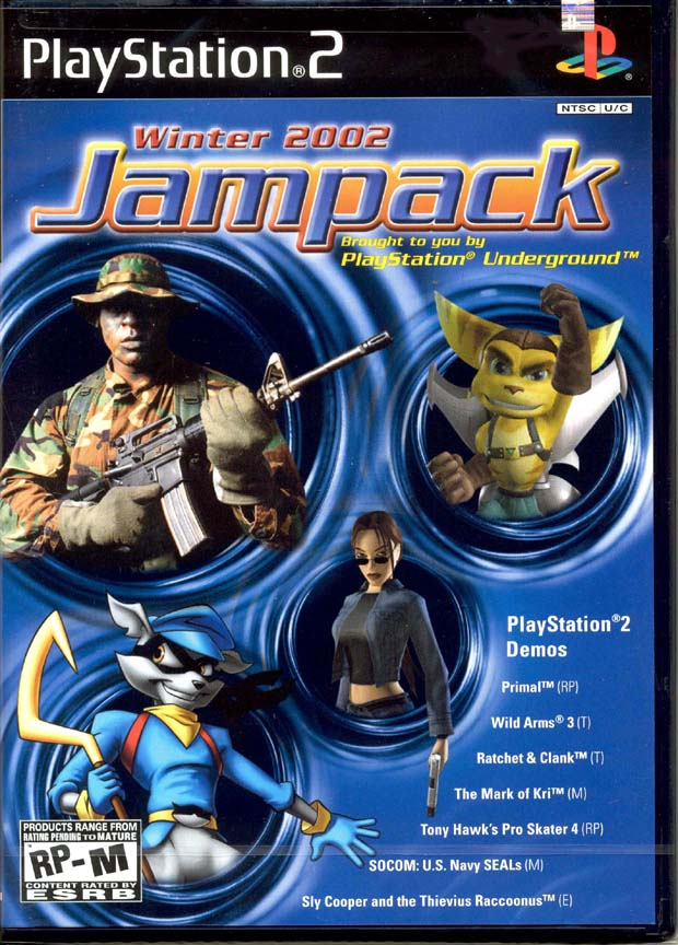 Jampack: Winter 2002 (PS2) /Demo for Demo (DEMO)