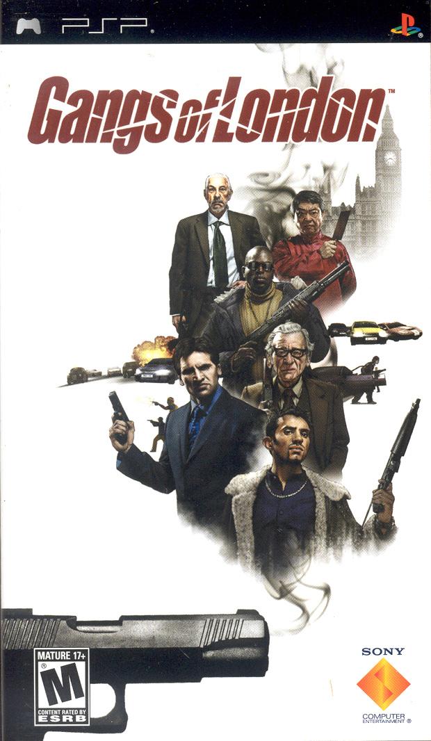 Gangs of London for Sony PSP (PSP)