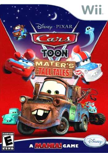 Toon Games on Nintendo Wii Cars Toon  Mater S Tall Tales Game   Shop  Buy And Save