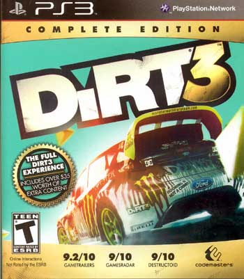 dirt 3 ps3