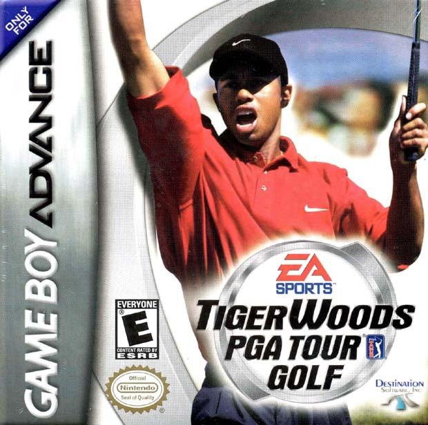 Tiger Woods PGA Tour Golf GBA